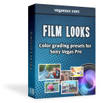 Film Looks: Cinematic presets for Sony Vegas
