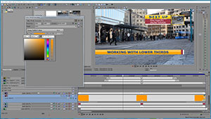 Animated Lower Thirds And Text Templates For Vegas Pro